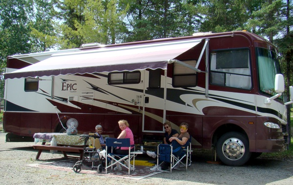 RV Camping on Lake of the Woods