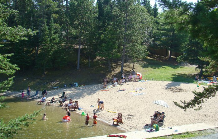 RV Park And Camping Lake Of The Woods Ontario Canada