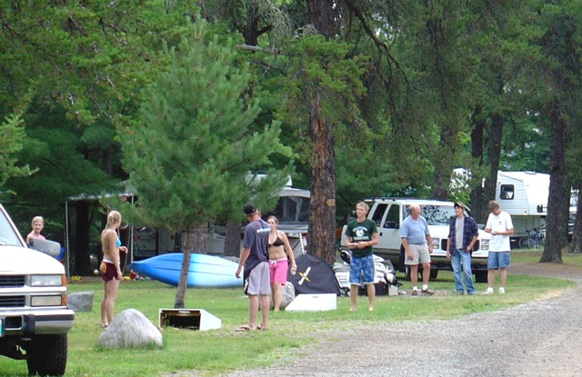 RV Park and Camping, Lake of the Woods, Ontario Canada!